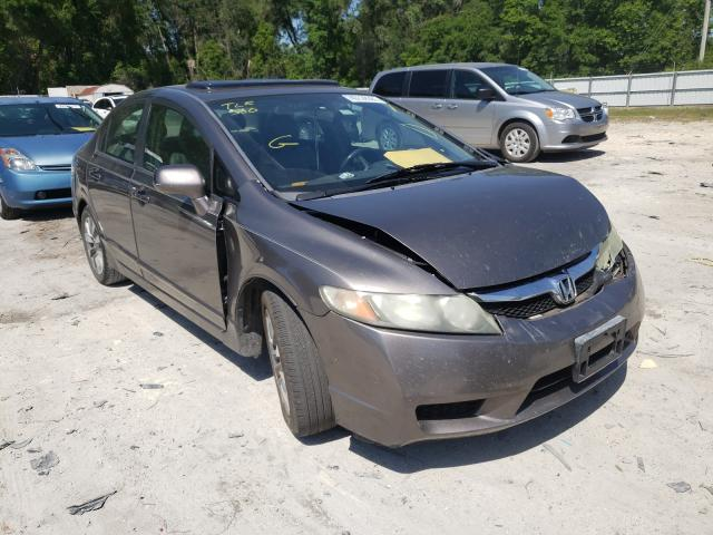 Salvage cars for sale from Copart Ocala, FL: 2009 Honda Civic EXL