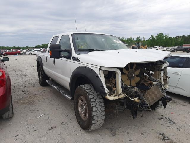 Salvage trucks for sale at Montgomery, AL auction: 2011 Ford F250 Super