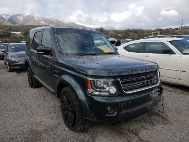 Salvage cars for sale from Copart Reno, NV: 2016 Land Rover LR4 HSE LU