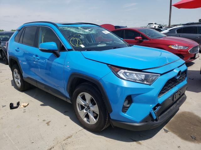 Salvage cars for sale from Copart Grand Prairie, TX: 2019 Toyota Rav4 XLE