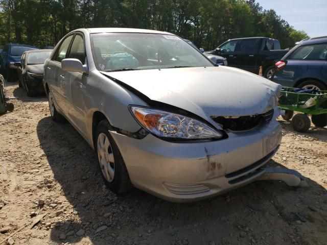 Salvage cars for sale from Copart Austell, GA: 2003 Toyota Camry LE