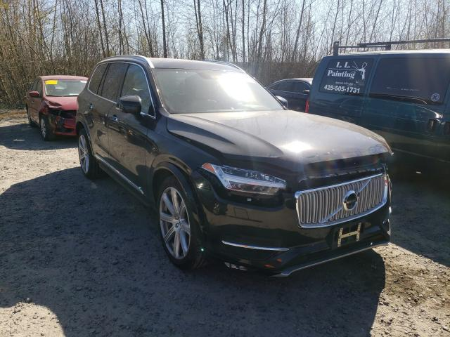 Salvage cars for sale from Copart Arlington, WA: 2016 Volvo XC90 T6