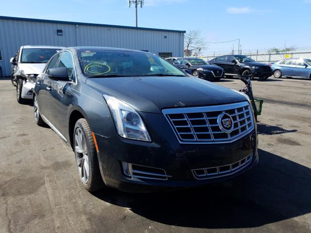 Salvage cars for sale from Copart Brookhaven, NY: 2013 Cadillac XTS Luxury