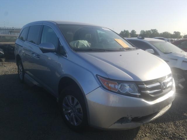 Salvage cars for sale from Copart Sacramento, CA: 2015 Honda Odyssey EX