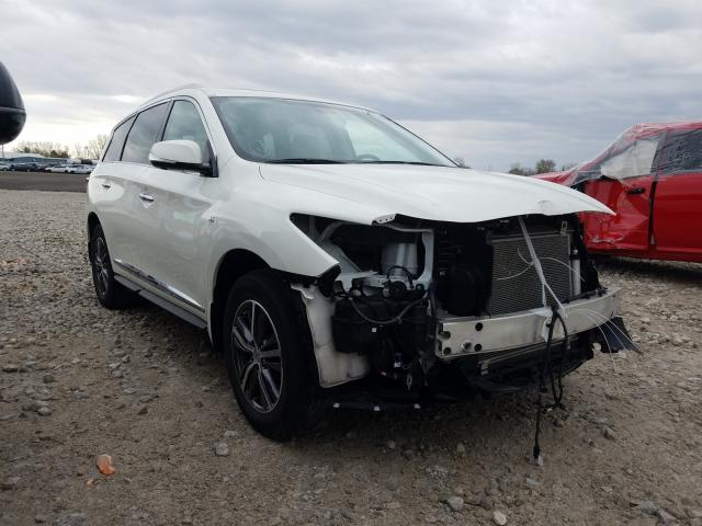 Salvage cars for sale from Copart London, ON: 2017 Infiniti QX60