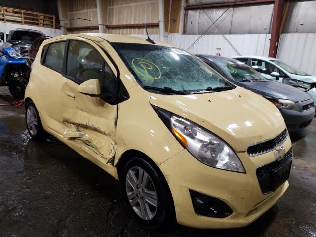 Salvage cars for sale from Copart Anchorage, AK: 2014 Chevrolet Spark 1LT