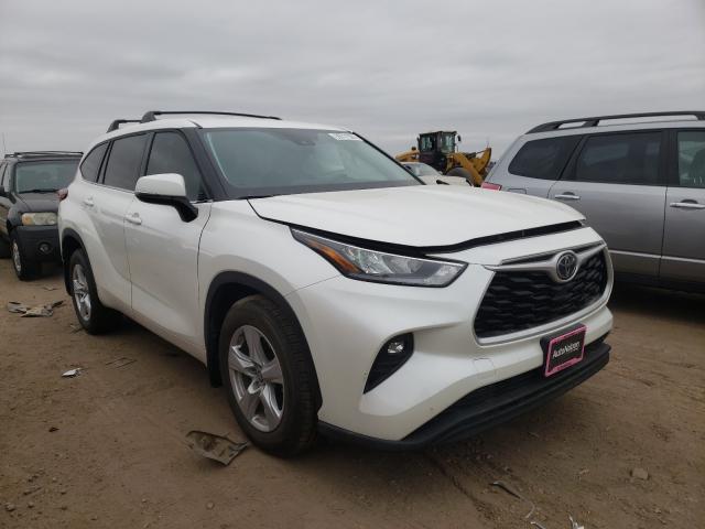 Vehiculos salvage en venta de Copart Brighton, CO: 2020 Toyota Highlander