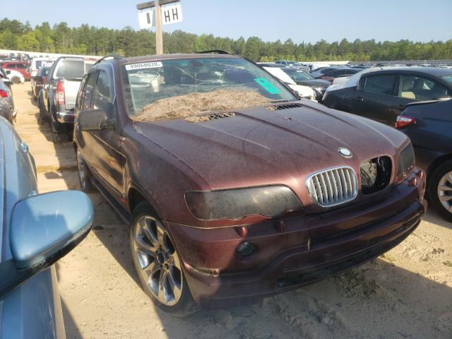 BMW Vehiculos salvage en venta: 2000 BMW X5 4.4I