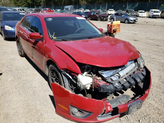Salvage cars for sale from Copart Graham, WA: 2010 Ford Fusion SE