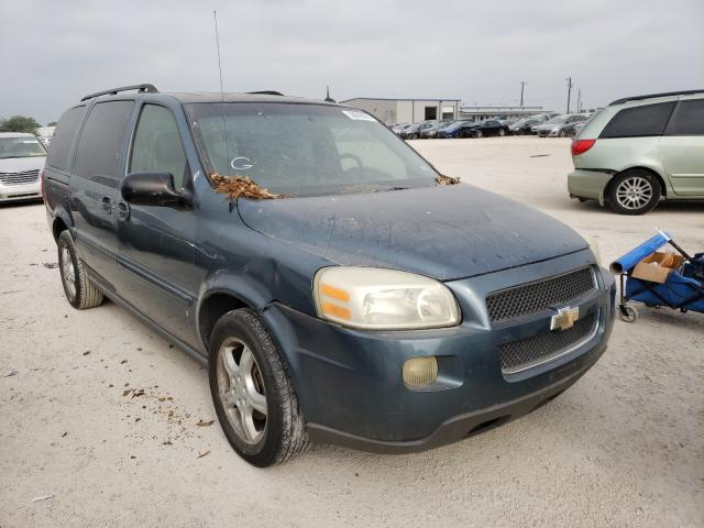 Salvage cars for sale from Copart San Antonio, TX: 2006 Chevrolet Uplander L