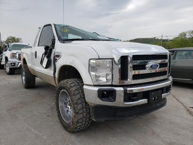 Salvage cars for sale from Copart Lebanon, TN: 2008 Ford F250 Super