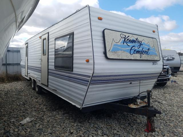 Salvage cars for sale from Copart Appleton, WI: 1995 Kountry 5th Wheel