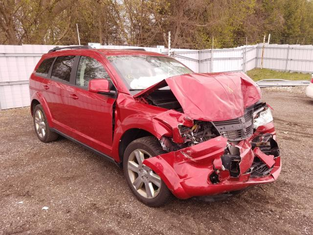 Salvage cars for sale from Copart London, ON: 2010 Dodge Journey SX