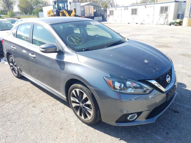 Salvage cars for sale from Copart Bridgeton, MO: 2016 Nissan Sentra S