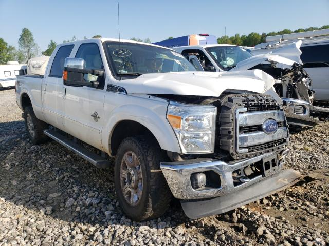 Salvage trucks for sale at Spartanburg, SC auction: 2015 Ford F250 Super