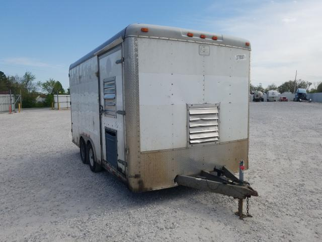 Cargo salvage cars for sale: 2015 Cargo Trailer