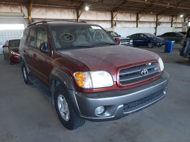 Salvage 2004 TOYOTA SEQUOIA - Small image. Lot 39817711