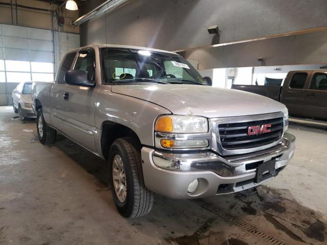 Salvage cars for sale from Copart Sandston, VA: 2005 GMC New Sierra