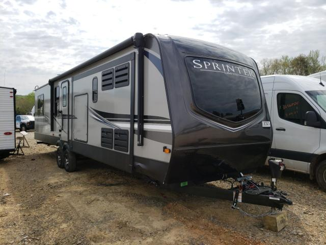 Salvage cars for sale from Copart Chatham, VA: 2020 Keystone Travel Trailer