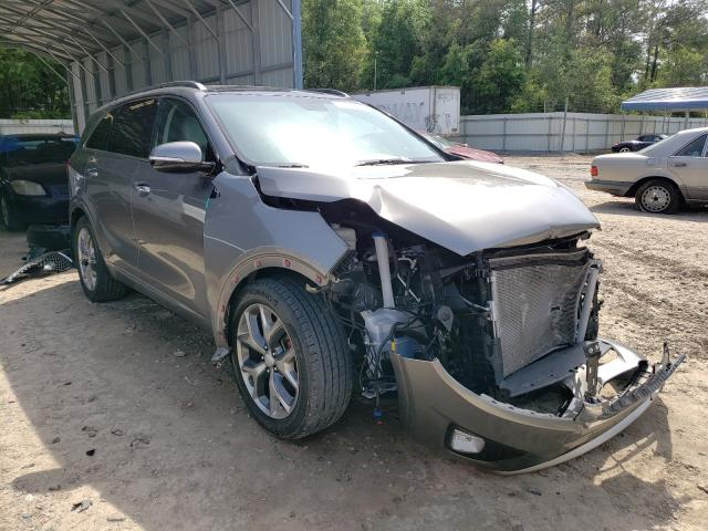 Salvage cars for sale from Copart Midway, FL: 2017 KIA Sorento SX