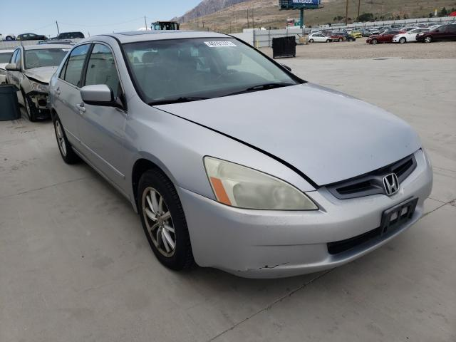 Salvage cars for sale from Copart Farr West, UT: 2005 Honda Accord EX