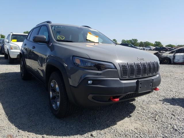 Jeep salvage cars for sale: 2019 Jeep Cherokee T
