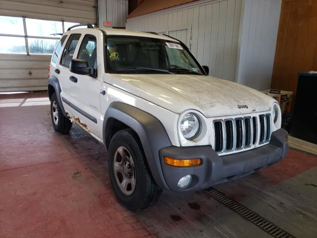 Salvage cars for sale from Copart Angola, NY: 2004 Jeep Liberty SP