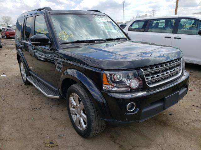 Salvage cars for sale from Copart Woodhaven, MI: 2016 Land Rover LR4 HSE