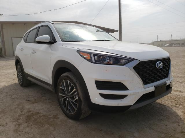 Salvage cars for sale from Copart Temple, TX: 2021 Hyundai Tucson Limited