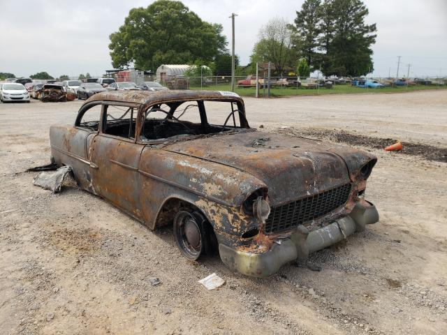 Chevrolet BEL AIR salvage cars for sale: 1955 Chevrolet BEL AIR