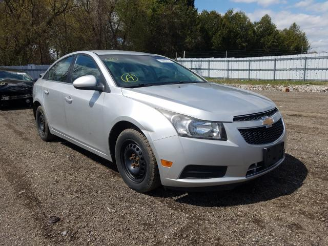 Salvage cars for sale from Copart London, ON: 2012 Chevrolet Cruze LT