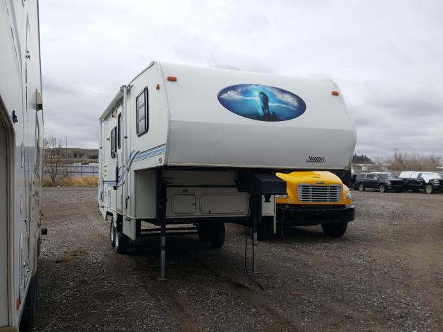 Salvage cars for sale from Copart Billings, MT: 1999 Shasta 5th Wheel
