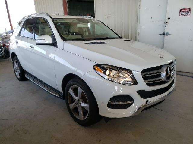 Salvage cars for sale from Copart Homestead, FL: 2017 Mercedes-Benz GLE 350
