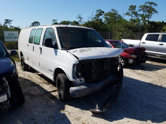 Salvage cars for sale from Copart Fort Pierce, FL: 1997 Chevrolet Express G2