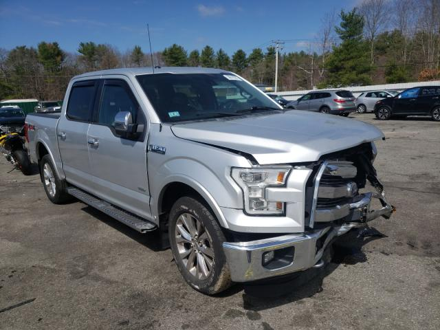 Salvage cars for sale from Copart Exeter, RI: 2015 Ford F150 Super