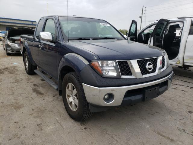 Salvage cars for sale from Copart Lebanon, TN: 2006 Nissan Frontier K