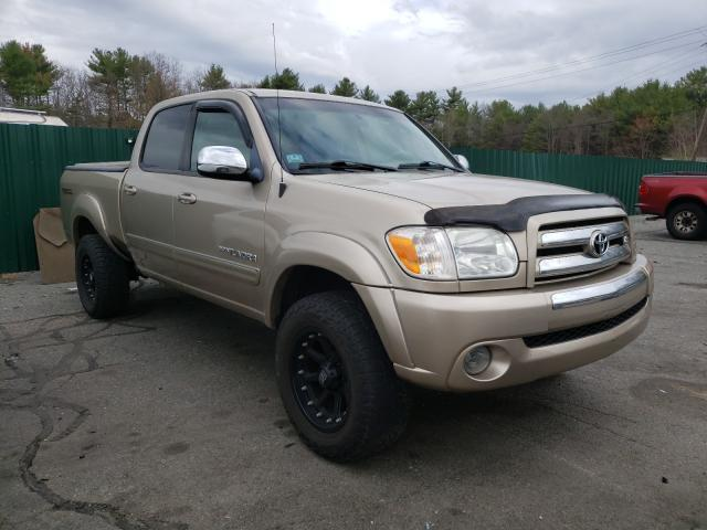 Salvage cars for sale from Copart Exeter, RI: 2006 Toyota Tundra DOU