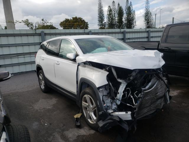 Salvage cars for sale from Copart Miami, FL: 2018 GMC Terrain SL