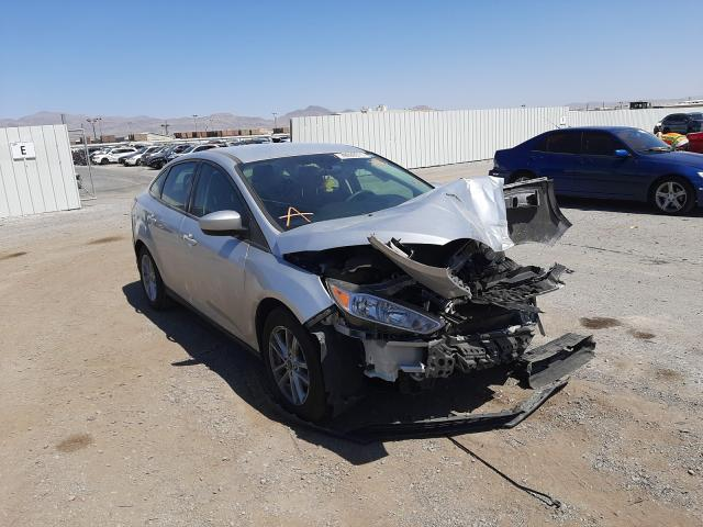 Salvage cars for sale from Copart Las Vegas, NV: 2018 Ford Focus SE
