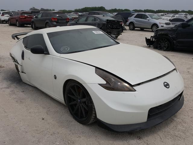 Salvage cars for sale from Copart San Antonio, TX: 2012 Nissan 370Z Base