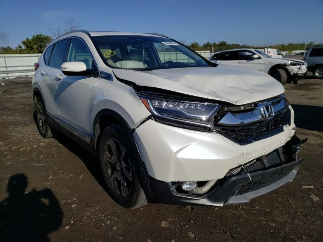 Salvage cars for sale from Copart Brookhaven, NY: 2018 Honda CR-V Touring