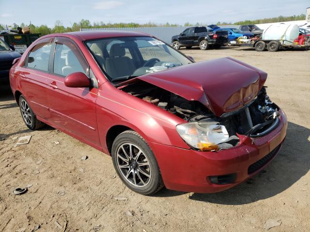 Vehiculos salvage en venta de Copart Louisville, KY: 2009 KIA Spectra EX