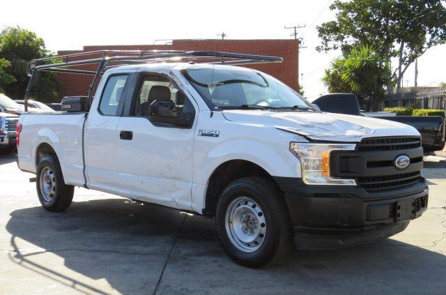 Salvage cars for sale from Copart Colton, CA: 2019 Ford F150 Super