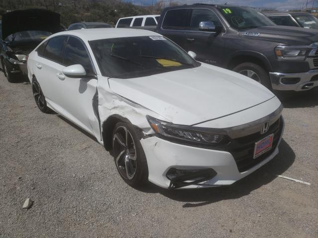 Salvage cars for sale from Copart Reno, NV: 2018 Honda Accord Sport