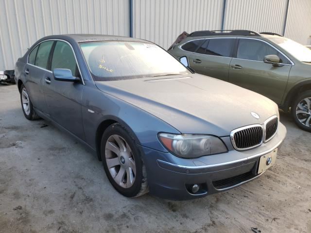 BMW salvage cars for sale: 2007 BMW 750I