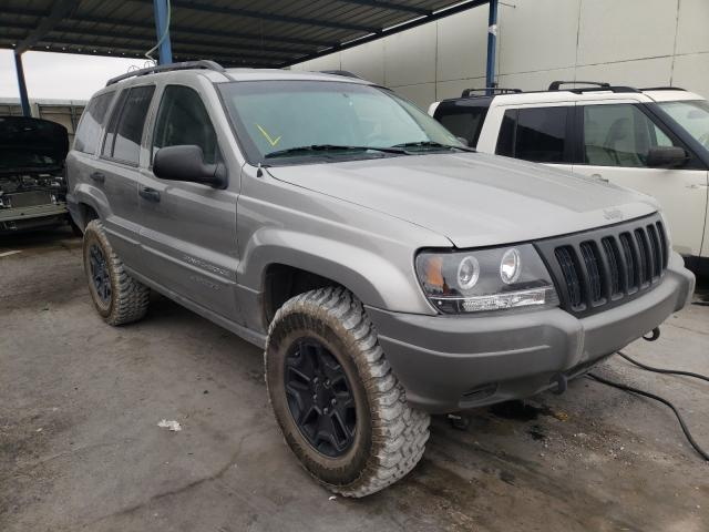 Salvage cars for sale from Copart Anthony, TX: 2002 Jeep Grand Cherokee
