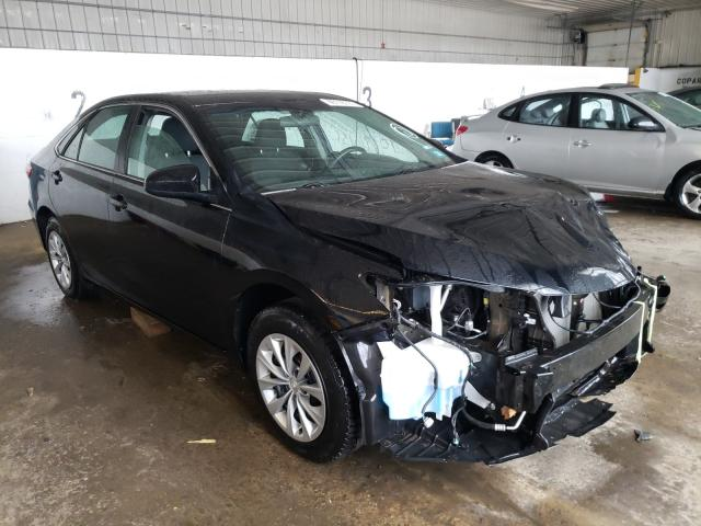 Salvage cars for sale at Candia, NH auction: 2017 Toyota Camry LE