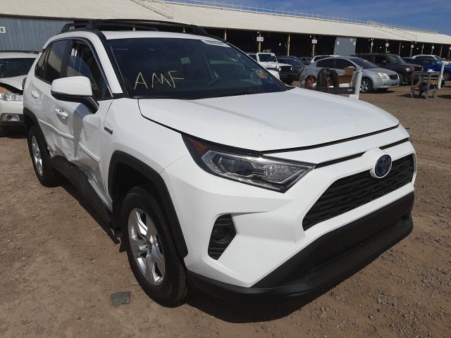 Salvage cars for sale from Copart Phoenix, AZ: 2021 Toyota Rav4 XLE