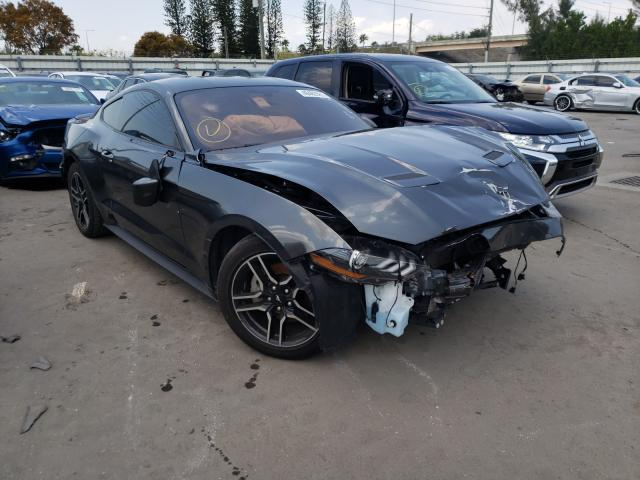 Salvage cars for sale from Copart Miami, FL: 2020 Ford Mustang