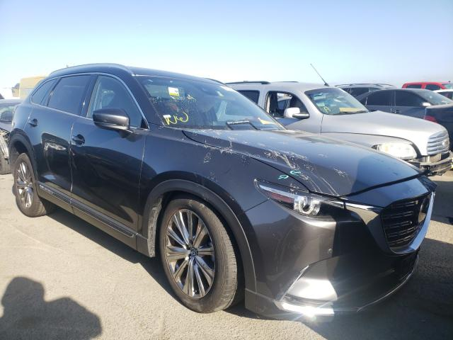 Salvage cars for sale from Copart Martinez, CA: 2021 Mazda CX-9 Signa